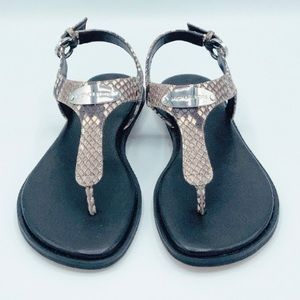 Michael by Kors Leather Sandals